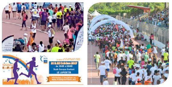 Assurance outremer sponsor de la course le relais pour la vie